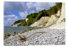 Acrylic print  chalk coast island of ruegen - Simone Splinter