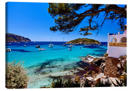 Canvas print  Fantastic bay in Mallorca - Jürgen Seibertz