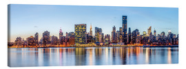 Canvas print  New York - Midtown Manhattan Skyline - Sascha Kilmer