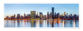 Premium poster  New York - Midtown Manhattan Skyline - Sascha Kilmer