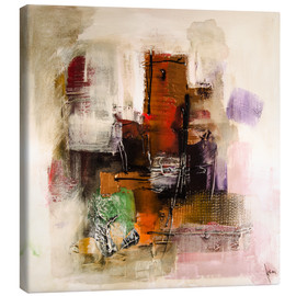 Canvas print  Abstract painting on canvas - modern and contemporary - Michael artefacti