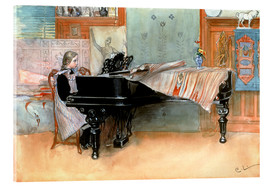 Acrylic glass  The scale - Carl Larsson