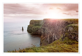 Premium poster Cliffs of Moher