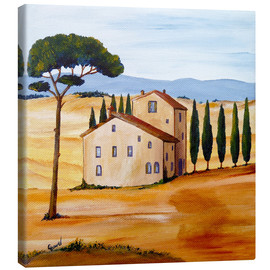 Canvas print  Tuscany - Christine Huwer