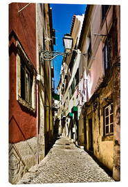 Canvas  Street in Lisbon - Felix Pergande