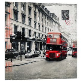 Foam board print  Postcard From London | 03 - Frank Wächter