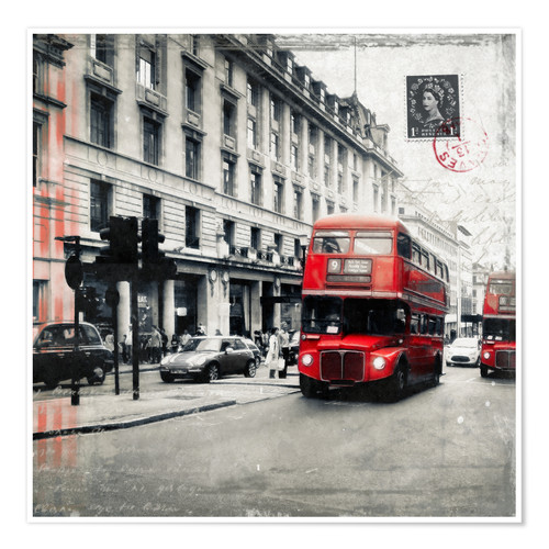 Premium poster Postcard From London | 03