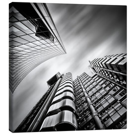Canvas print  Lloyds London | 01 (black/white) - Frank Wächter