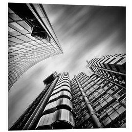 Foam board print  Lloyds London | 01 (black/white) - Frank Wächter