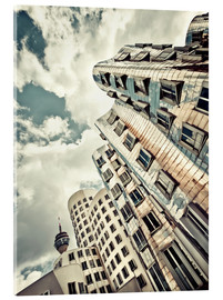 Acrylic print  Gehry Duesseldorf | 02 (variant) - Frank Wächter