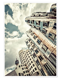 Premium poster Gehry Duesseldorf | 02 (variant)