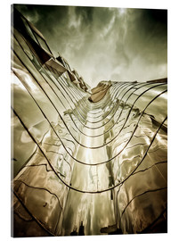 Acrylic print  Gehry Duesseldorf | 03 - Frank Wächter