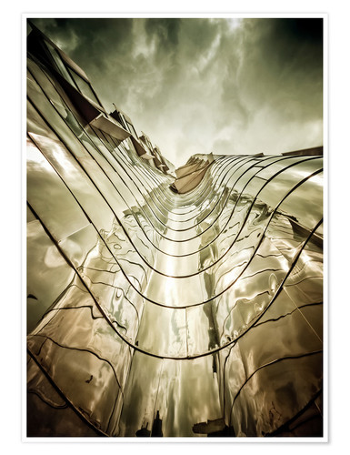 Premium poster Gehry Duesseldorf | 03