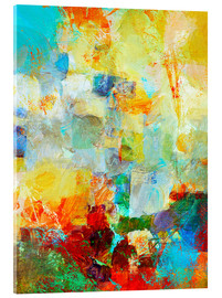Acrylic print  basso continuo! - Wolfgang Rieger