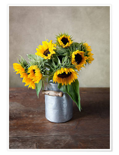 Premium poster Sunflowers 02