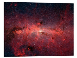 Foam board print  The center of the Milky Way - Stocktrek Images