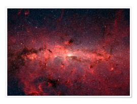 Premium poster  The center of the Milky Way
