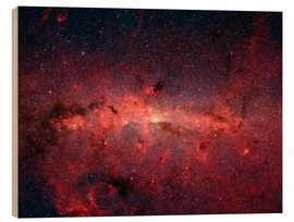 Wood print  The center of the Milky Way - Stocktrek Images