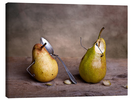 Canvas print  Simple Things - Pears - Nailia Schwarz