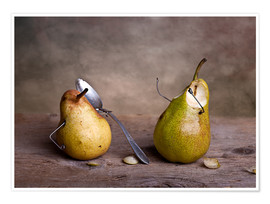 Premium poster Simple Things - Pears