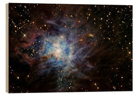 Wood print  The Iris Nebula - R Jay GaBany
