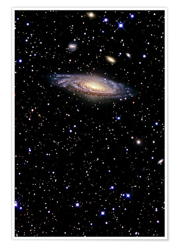 Premium poster Spiral galaxy in the constellation Pegasus
