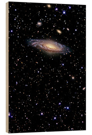 Wood  Spiral galaxy in the constellation Pegasus - R Jay GaBany