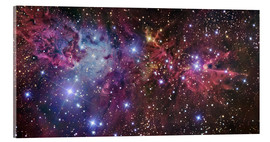 Acrylic glass  Violett nebula in space - R Jay GaBany