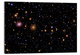 Acrylic print  The Perseus Galaxy Cluster - R Jay GaBany