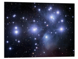 Foam board print  The Pleiades - Robert Gendler