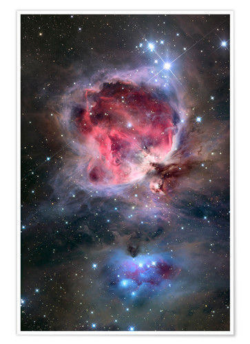 Premium poster The Orion Nebula