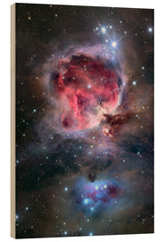 Wood print  The Orion Nebula - Roth Ritter