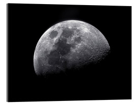 Acrylic print  Waxing gibbous moon - Roth Ritter