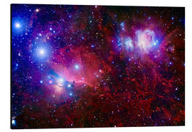 Alu-Dibond  The Belt Stars of Orion - Robert Gendler