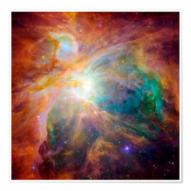 Poster  The Orion Nebula - Stocktrek Images