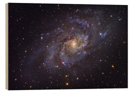 Wood print  The Triangulum Galaxy - Roth Ritter