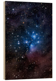 Wood print  The Pleiades - Roth Ritter