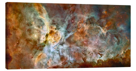 Canvas print  The central region of the Carina Nebula - Stocktrek Images