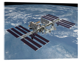 Acrylic glass  International space station ISS - Stocktrek Images