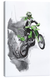 Canvas print  Motocross - Tompico