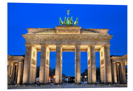 Foam board print  Berlin Germany Brandenbug gate - FineArt Panorama