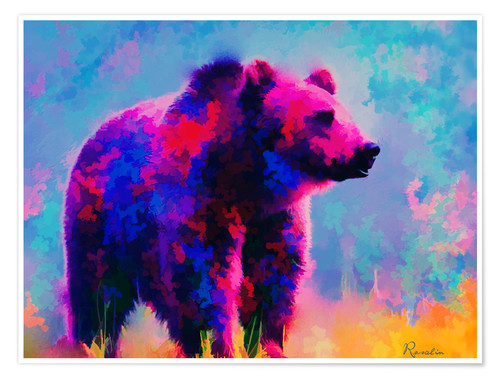 Poster Grizzly Bear