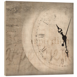 Wood print  Carpe diem - Christin Lamade