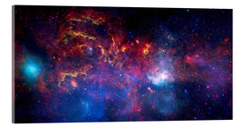 Acrylic glass  central region of the Milky Way galaxy - Stocktrek Images