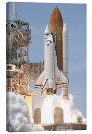 Canvas print  Atlantis Space shuttle - Stocktrek Images