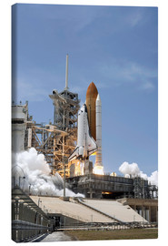 Canvas print  Space shuttle Atlantis - Stocktrek Images