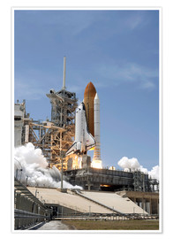 Premium poster Space shuttle Atlantis