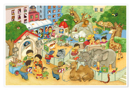 Premium poster Little Zoo