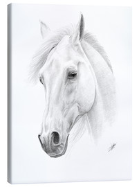 Canvas print  Horse drawing - Christian Klute