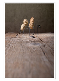 Poster  Simple Things - Together - Nailia Schwarz